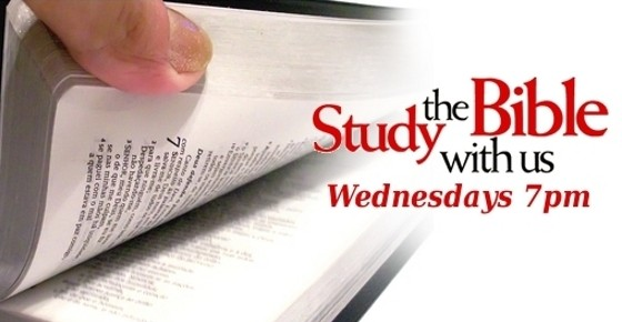 Prayer & Bible Study – Wednesdays 7pm